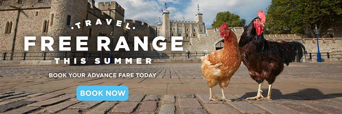 Travel free range with Chiltern this summer