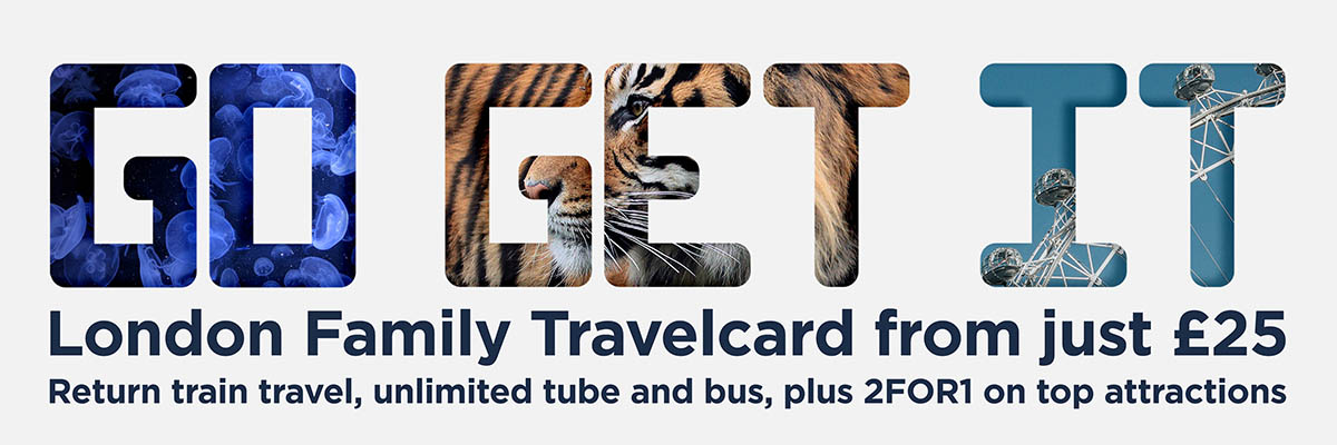 family travel card from just £25
