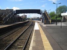 Langley Green station