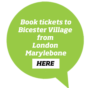 Book tickets to Bicester Village from London MYB here