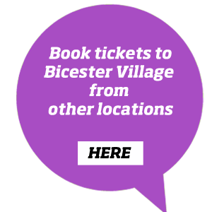 Book train tickets to Bicester Village