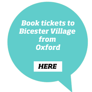 Book train tickets to Bicester Village from Oxford
