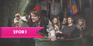 The London Dungeon with 2for1 entry when you travel by rail
