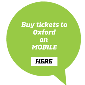 Book tickets to Oxford city centre with Chiltern Railways