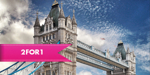 The Tower Bridge Exhibition with 2for1 entry when you travel by rail