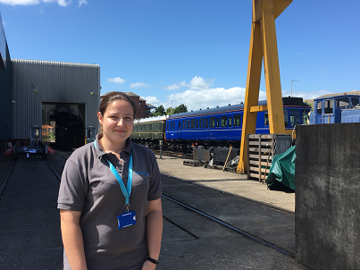 Picture of Amy Napier - Graduate Engineer with Chiltern Railways