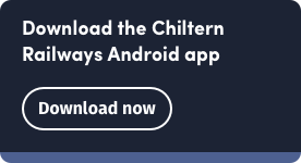 Download the Chiltern Railways Android app