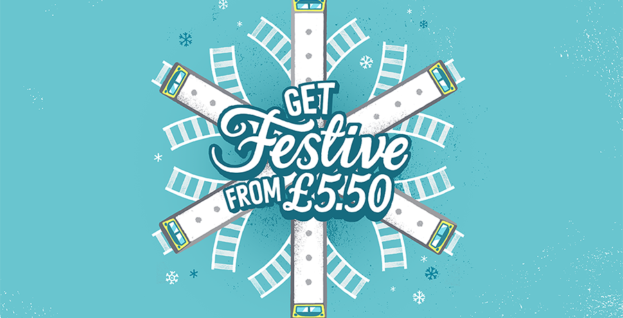 Get Festive with Chiltern Railways' advance fares from £5.50