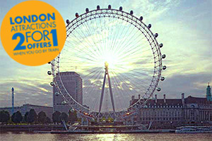 Travel to the Coca-Cola London Eye with Chiltern Railways