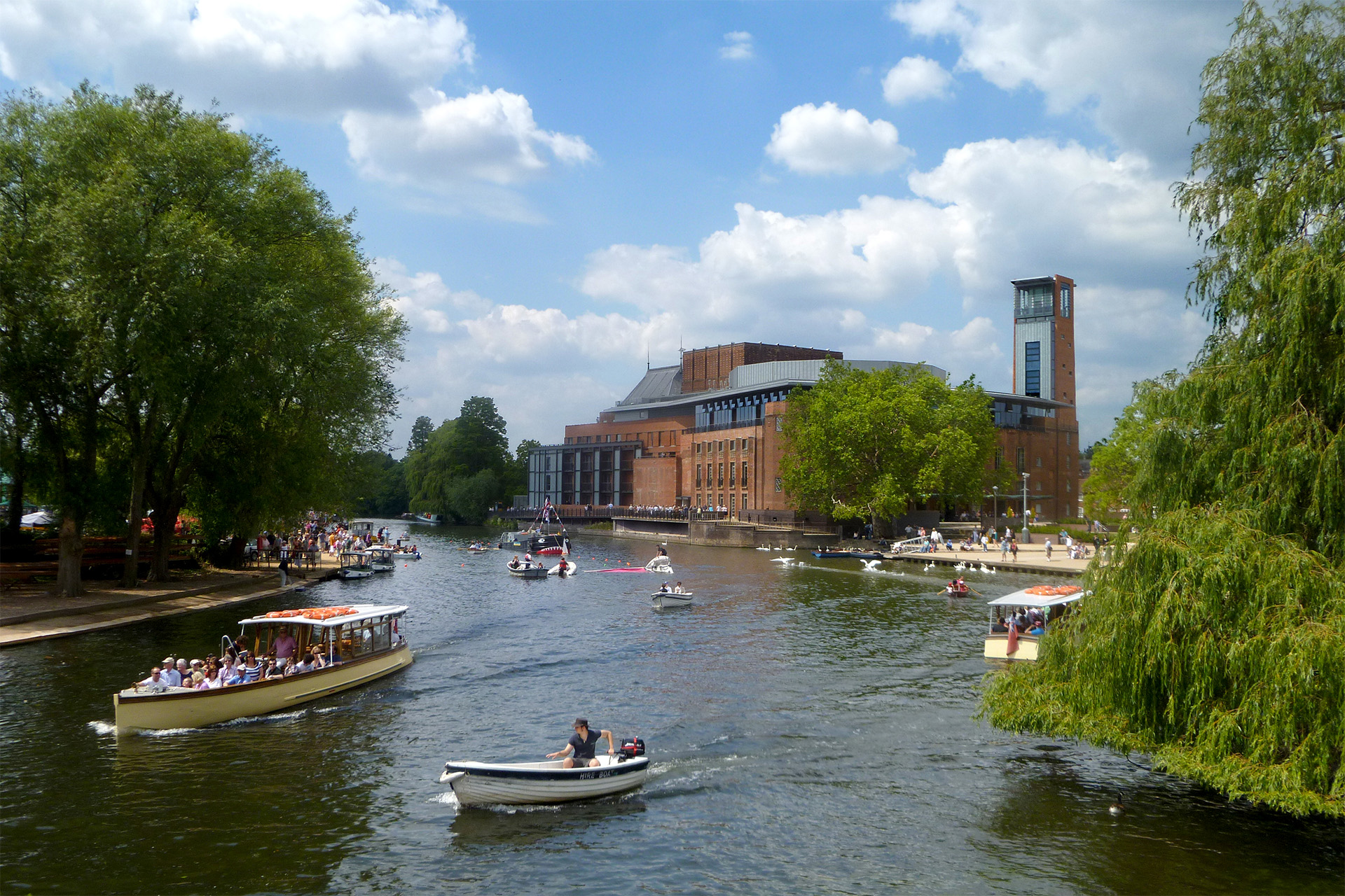 Royal Shakespeare Theatre photo by Ann Rob