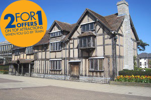 Flock to Shakespeare's Birthplace with Chiltern Railways