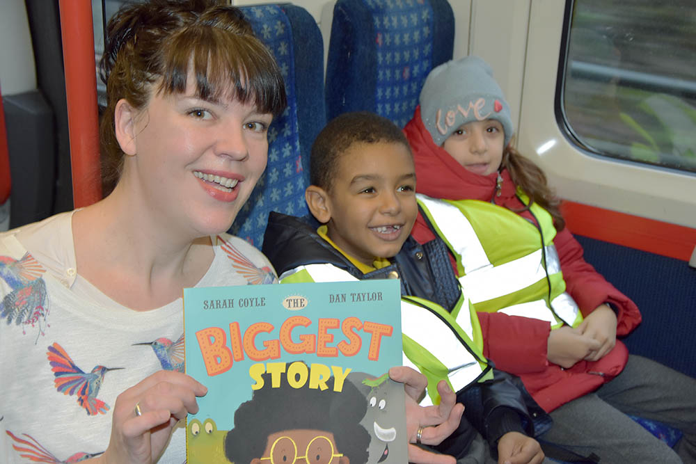 All aboard the Chiltern Railways Story Train!