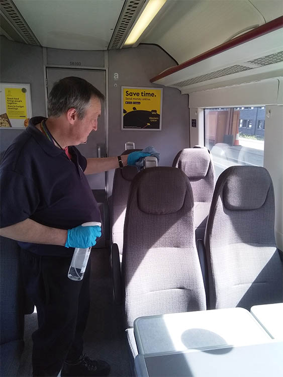 Chiltern Railways introduce new 'Deep Cleanse' teams to keep customers safe