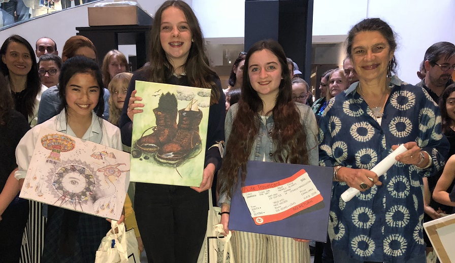 Young Art Oxford winners