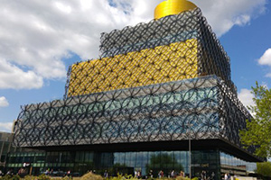 Flock to Birmingham Library with Chiltern Railways