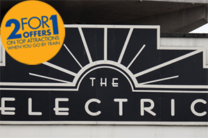 Get 2FOR1 in the Electric Cinema when you travel with Chiltern Railways