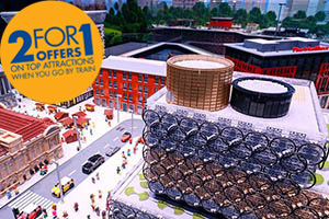 Travel to the Legoland Discovery Centre with Chiltern Railways
