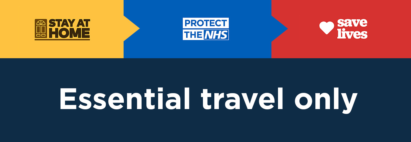 ESSENTIAL TRAVEL ONLY
