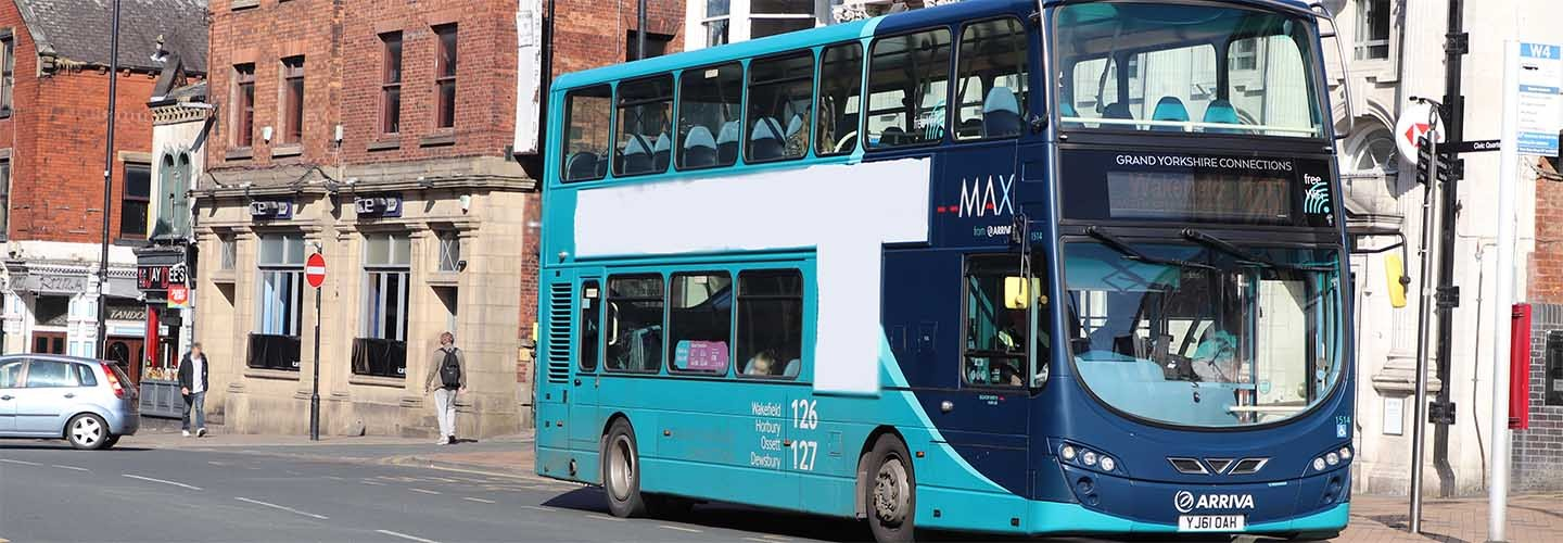 Find out about bus and tram options to and from train stations