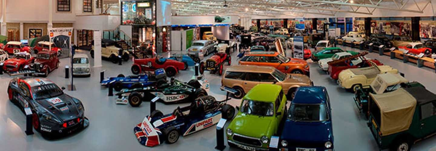 Flock to the British Motor Museum in Banbury with Chiltern Railways