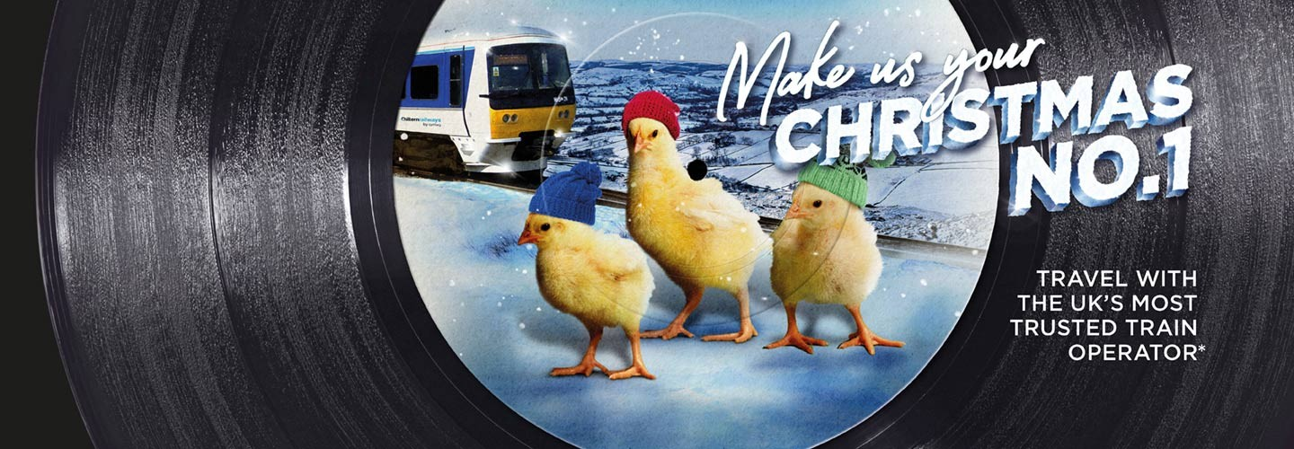 Make Chiltern Railways your Christmas number 1