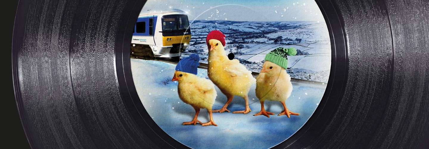 Travel with Chiltern Railways this boxing day and make us your Christmas No1