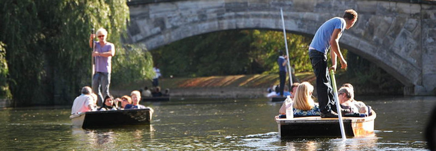 Flock to Oxford for some punting along the river with Chiltern Railways