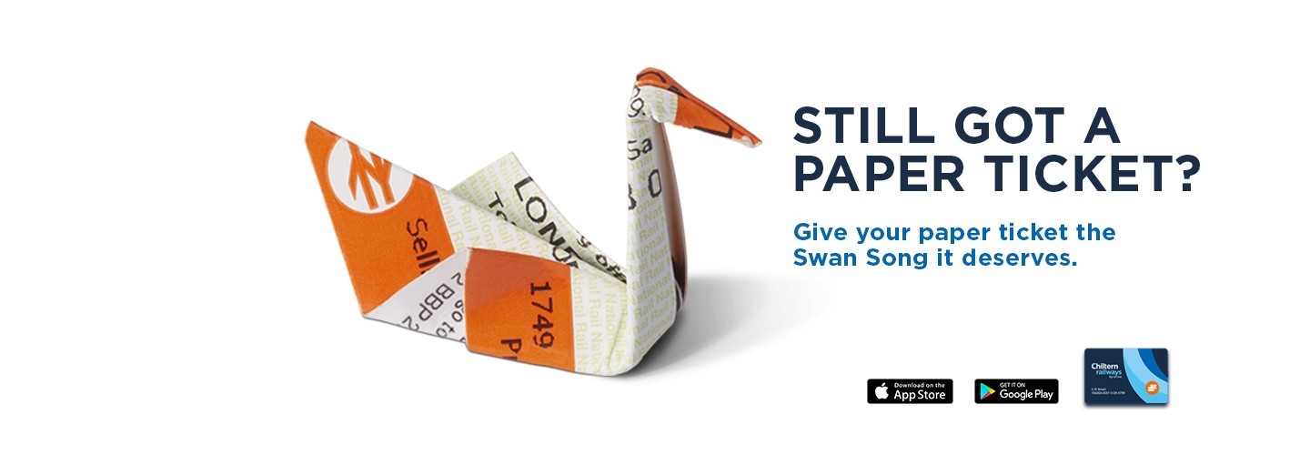 Ditch the paper ticket and upgrade, get your Chiltern Railways smartcard today!