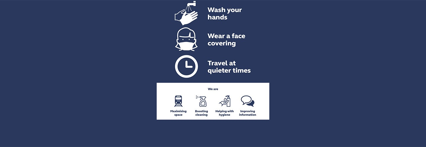 Travel with confidence with Chiltern Railways, please follow government guidance