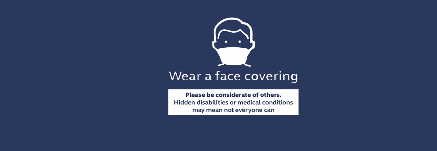 Wearing a face covering on public transport is now compulsory