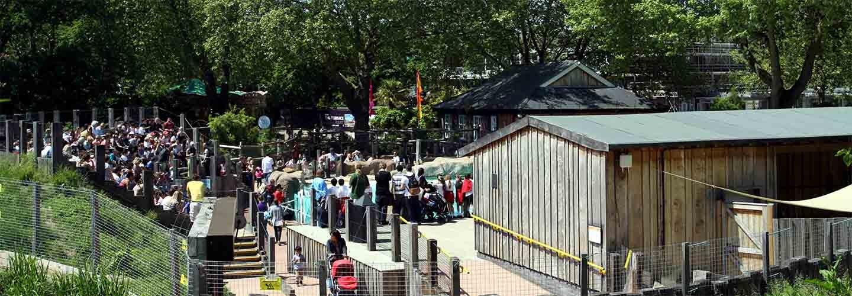 ZSL London Zoo with Chiltern Railways