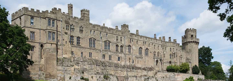 Warwick Castle with Chiltern Railways
