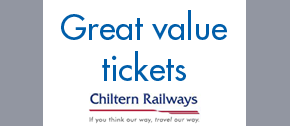 Great Value fares to London with Chiltern Railways